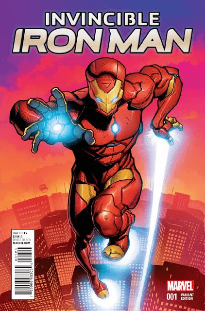 Một Iron Man hoàn toàn mới