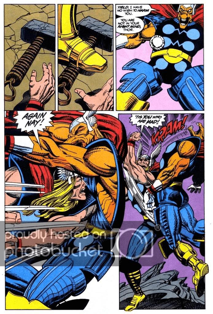 Bill đấu với Thor