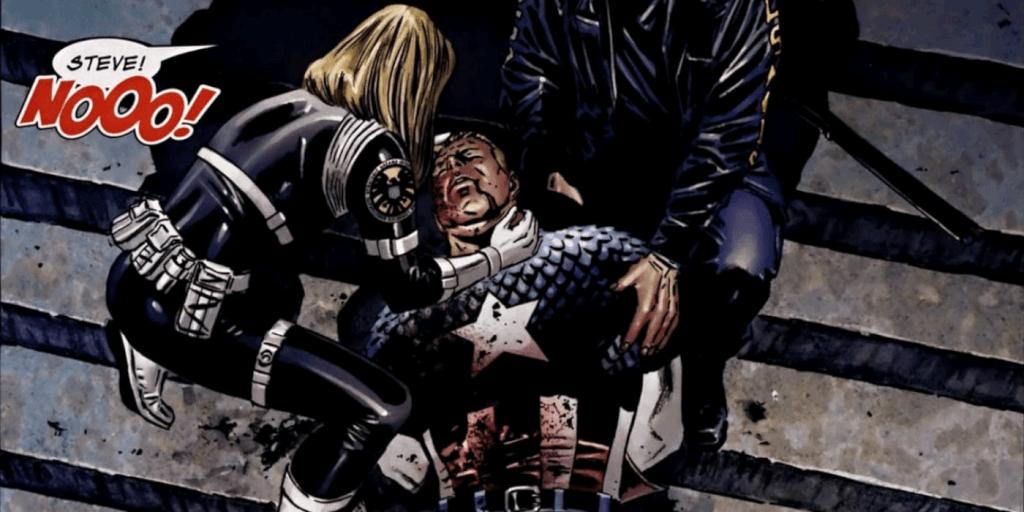 Captain America đã bị một kẻ bắn tỉa bí mật bắn