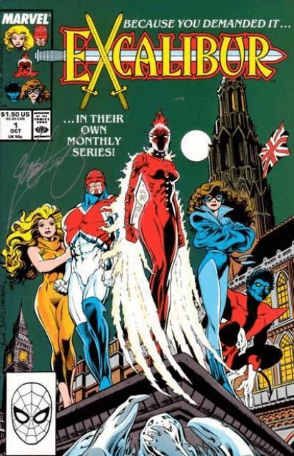 Captain Britain và nhóm siêu anh hùng Excalibur