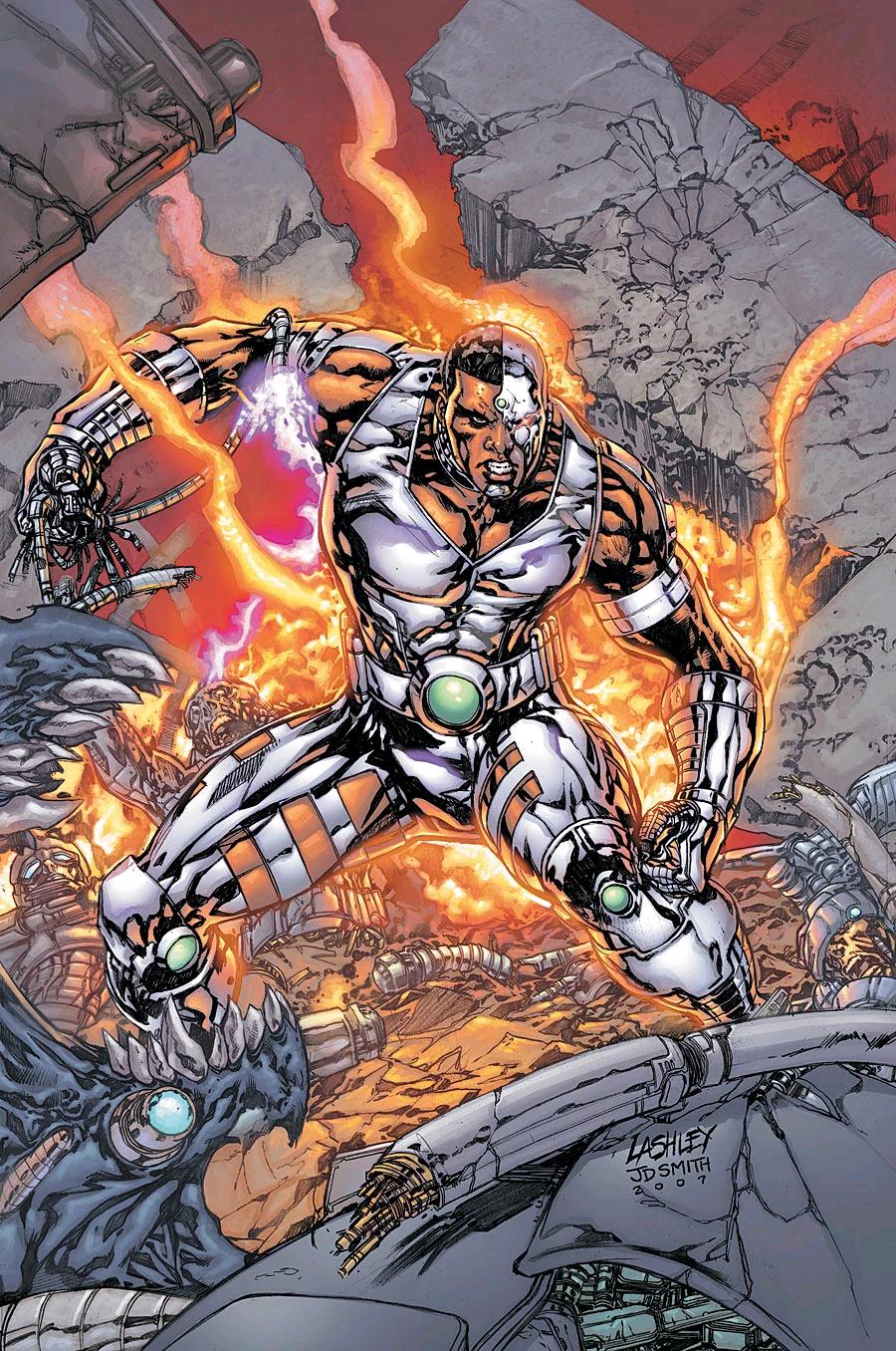 "Cyborg - Victor ""Vic"" Stone"