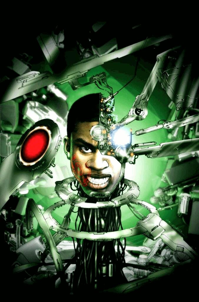Cybernetic tái tạo lại cơ thể của Victor Stone