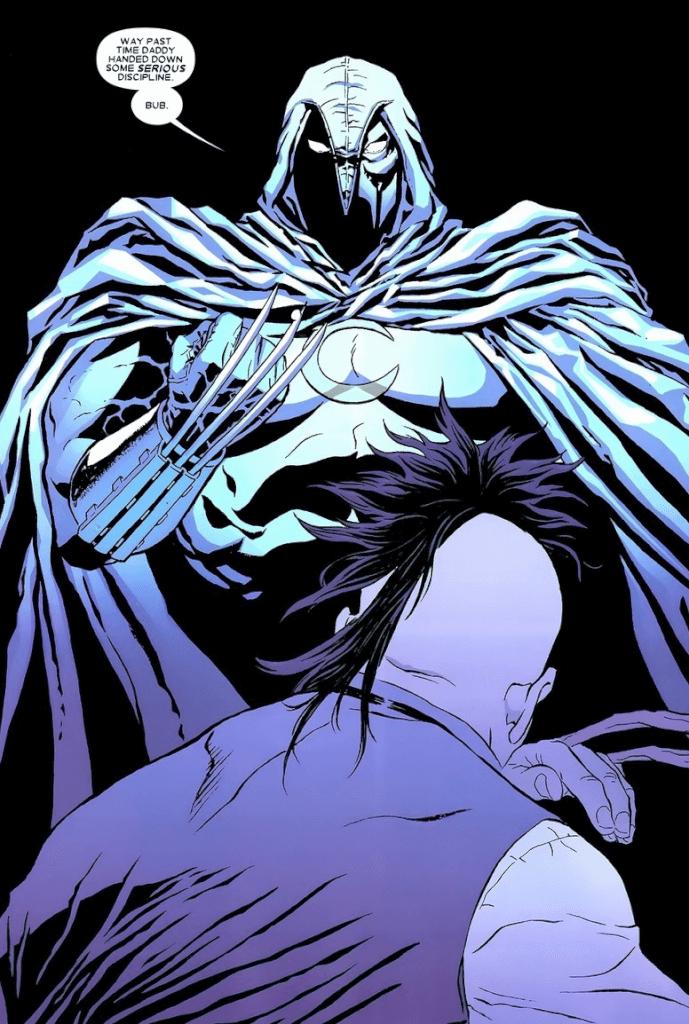 Daken và Moon Knight