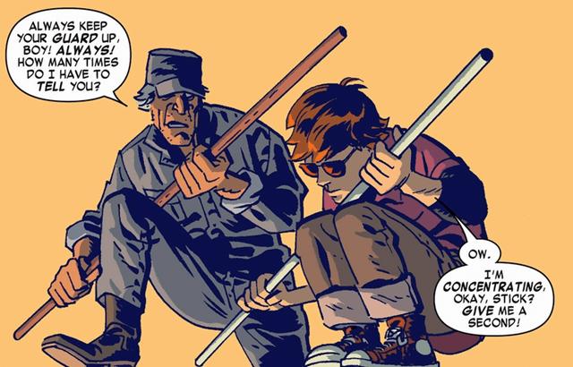Huấn luyện cho Matt