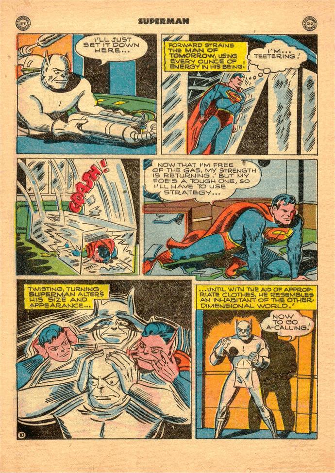 Superman biến hình như dị nhân Mystique