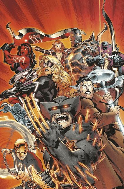 Các anh hùng các vũ khí được Tony làm ra từ Uru