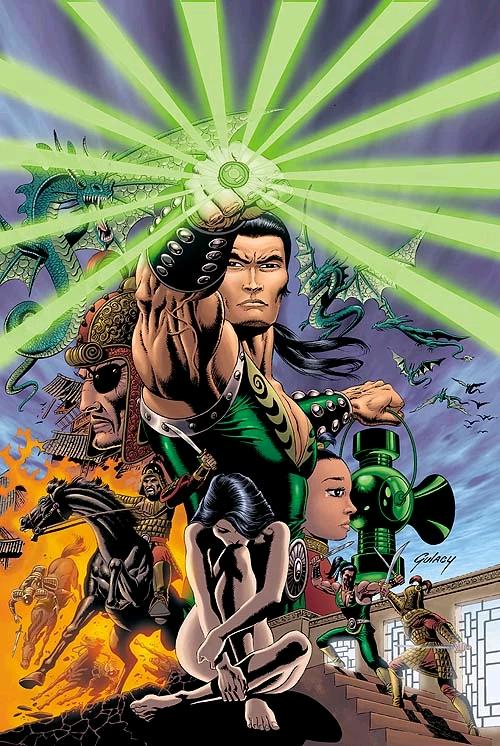 JONG LI - Green Lantern con người đầu tiên của Trái Đất