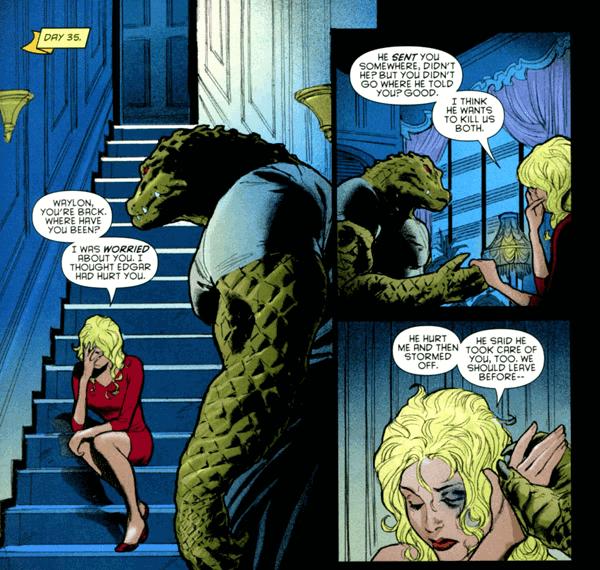 Killer Croc và Juliette