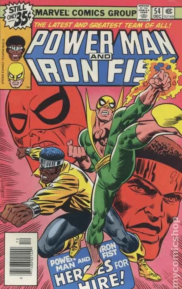 Luke Cage và Iron Fist
