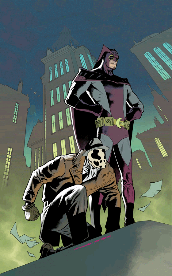 Nite Owl II and Rorschach