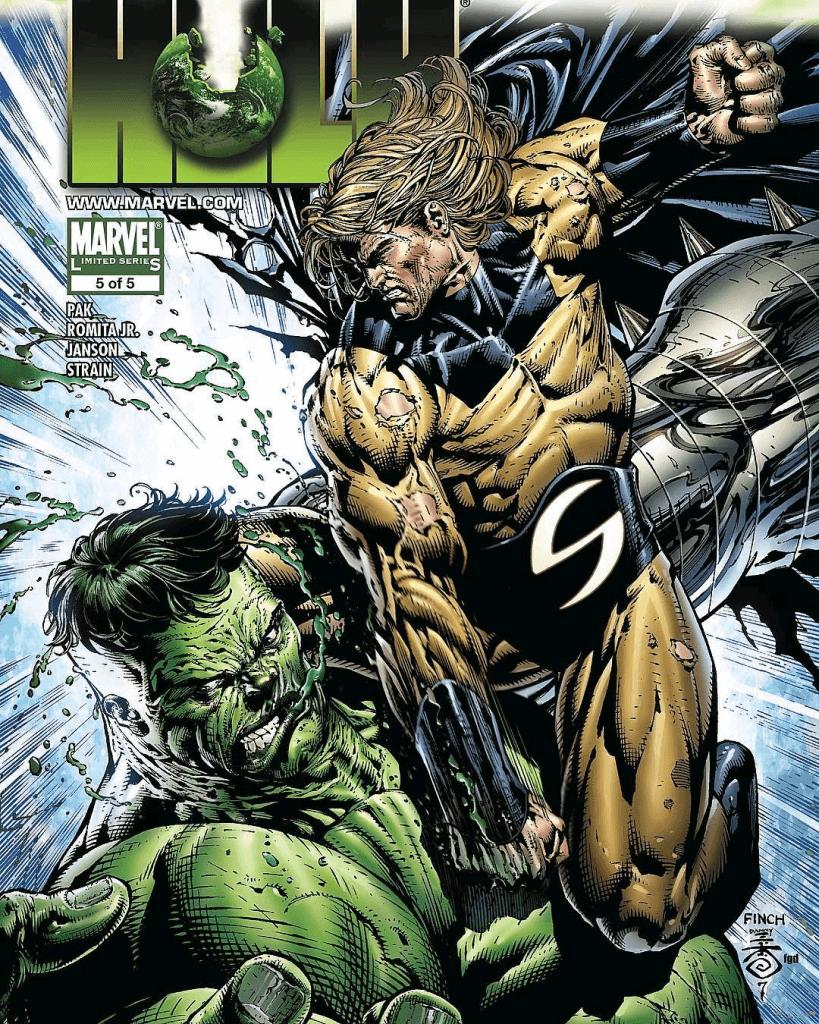 Sentry hành Hulk lên bờ xuống ruộng