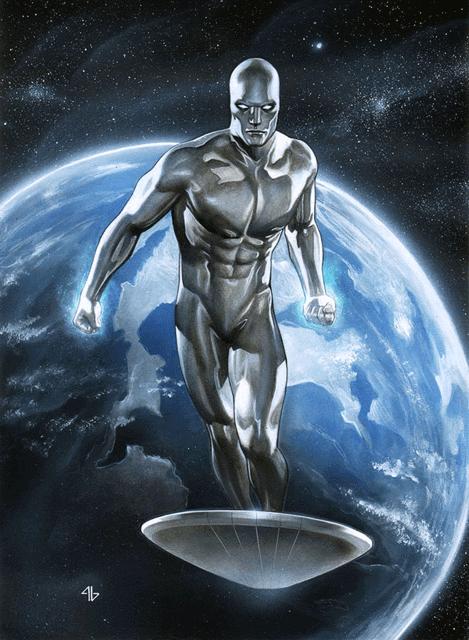 Galactus biến đổi Norrin thành Silver Surfer