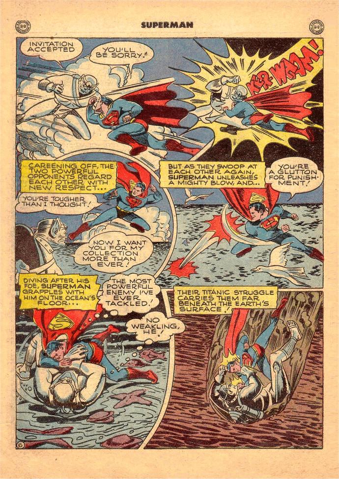 Superman điều khiển tâm trí như Giáo sư X