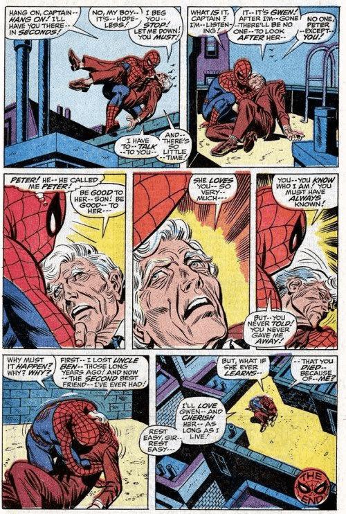 """""""Quyền lực càng lớn, trách nhiệm càng nặng nề"""" – Peter Parker."""