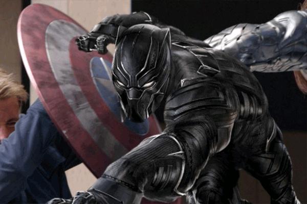 Bộ giáp của Black Panther cũng được làm từ vibranium