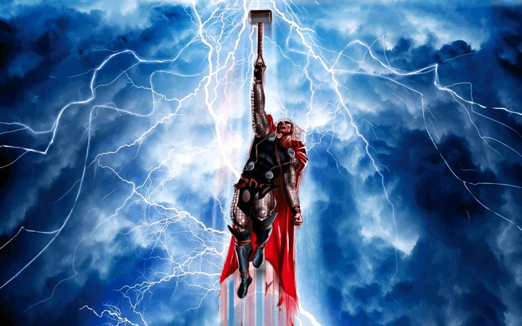 Thor triệu hồi sấm sét