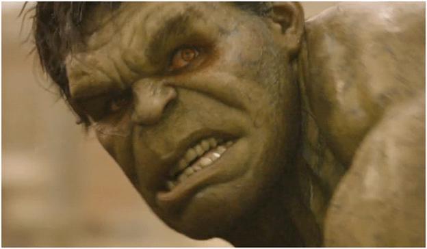 Hulk rơi vào trạng thái Berserk