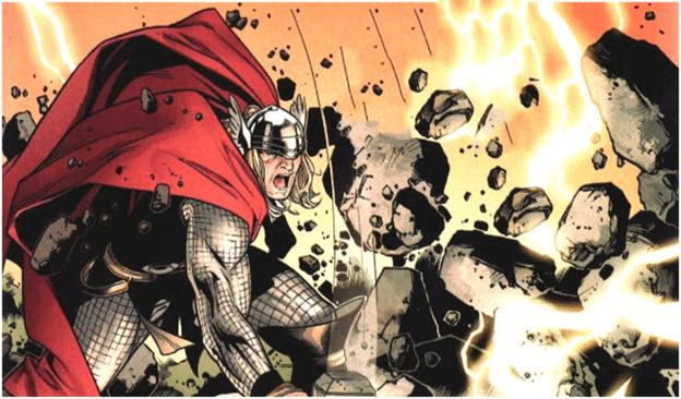 Thor có thể tạo động đất