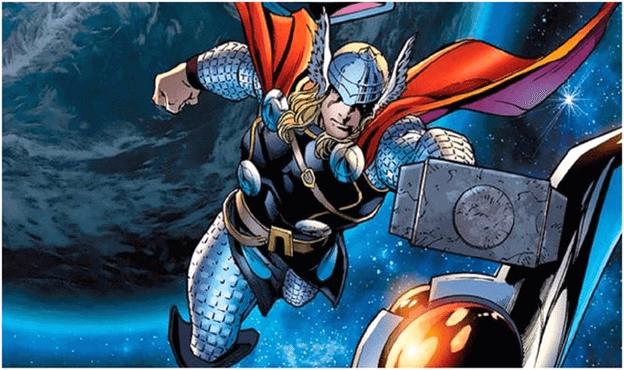 Thor có thể bay còn Hulk thì không