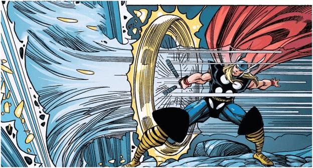 Thor tạo lốc xoáy