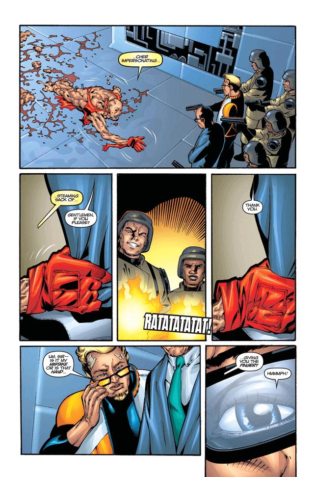 Wade bị Sabretooth hãm hại