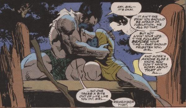 Wolverine và Jubilee