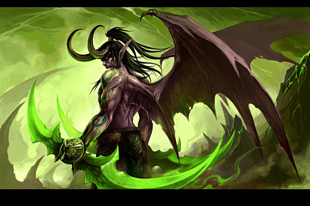 Illidan Stormage – Demon Hunter