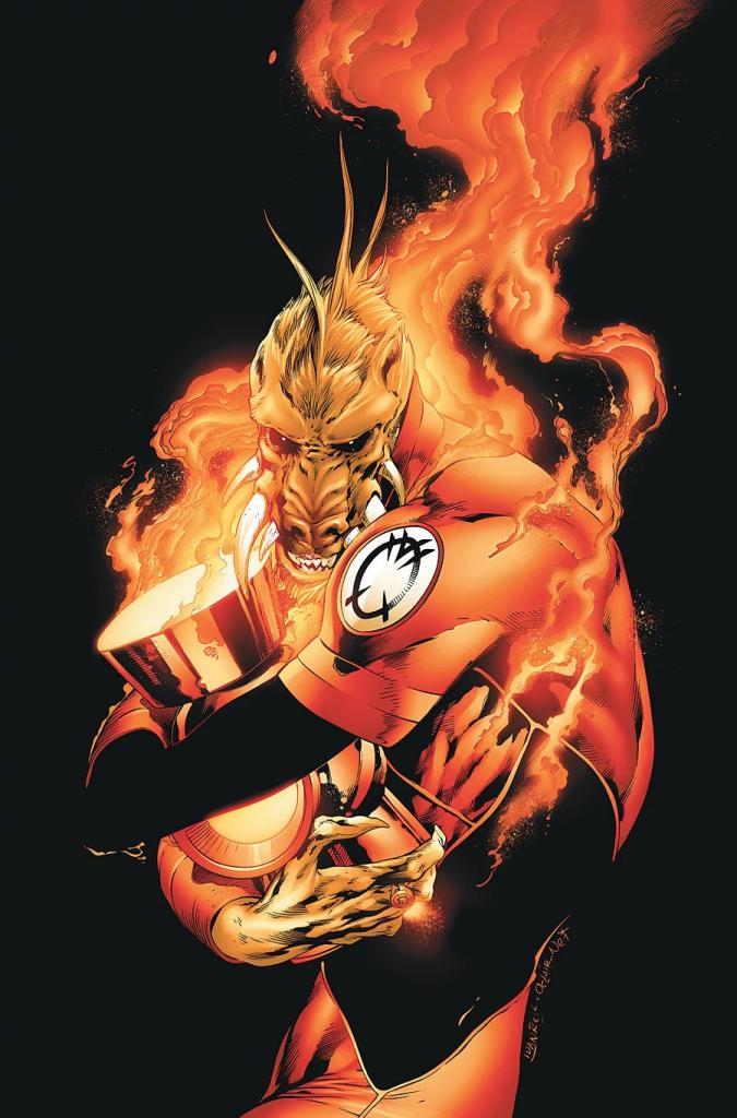 Larfleeze Agent Orange