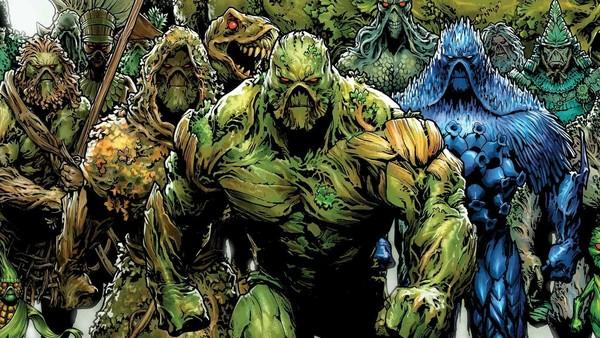 Swamp Thing, quái nhân đầm lầy, nhà vô địch của Trái Đất, Avatar của The Green trên Trái Đất.