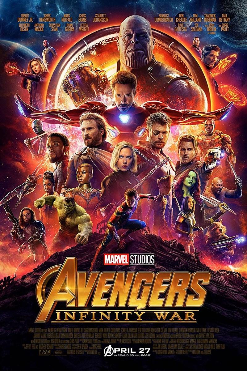 Avengers: Cuộc chiến vô cực - Avengers: Infinity War