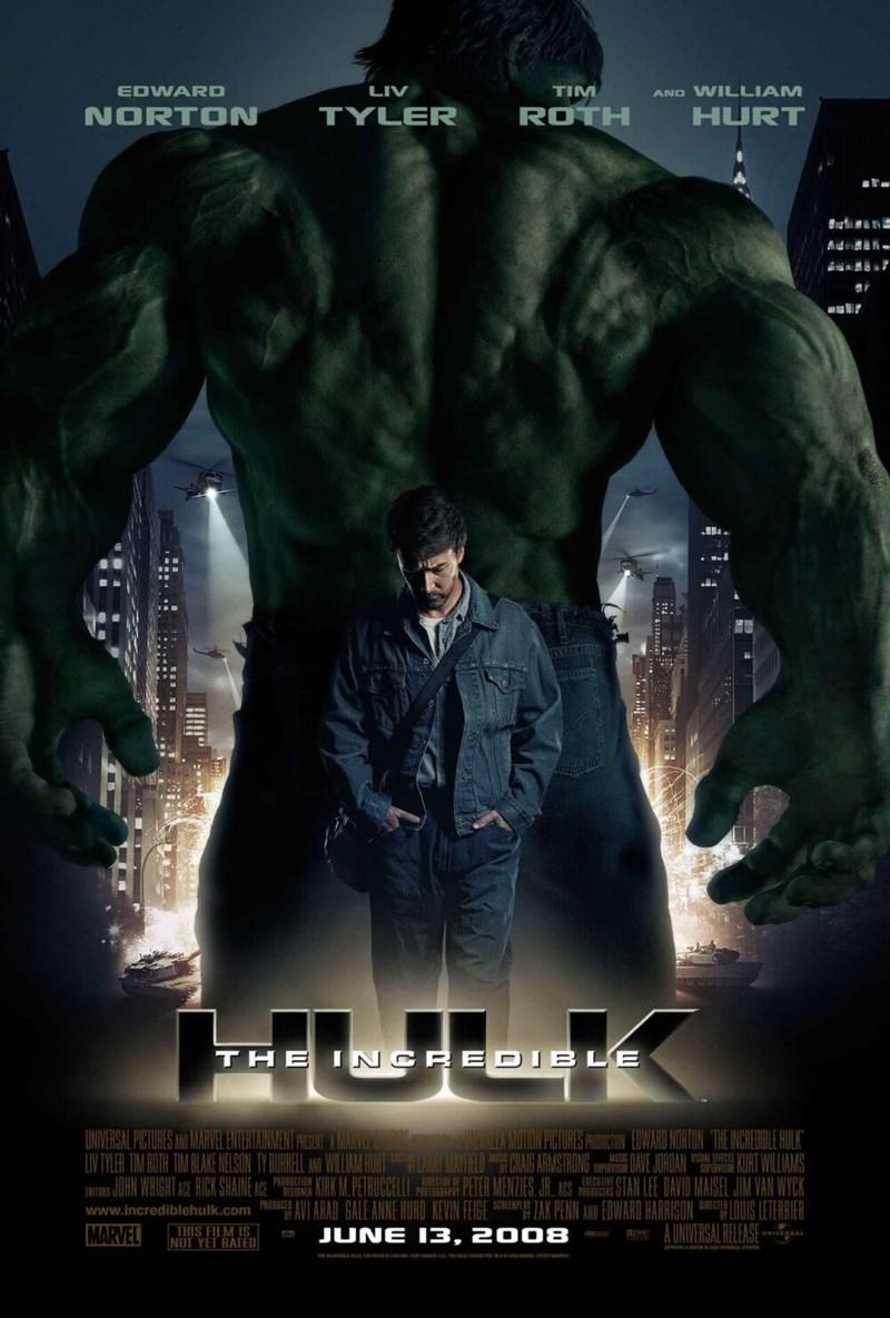 Người khổng lồ xanh - The Incredible Hulk (2008)