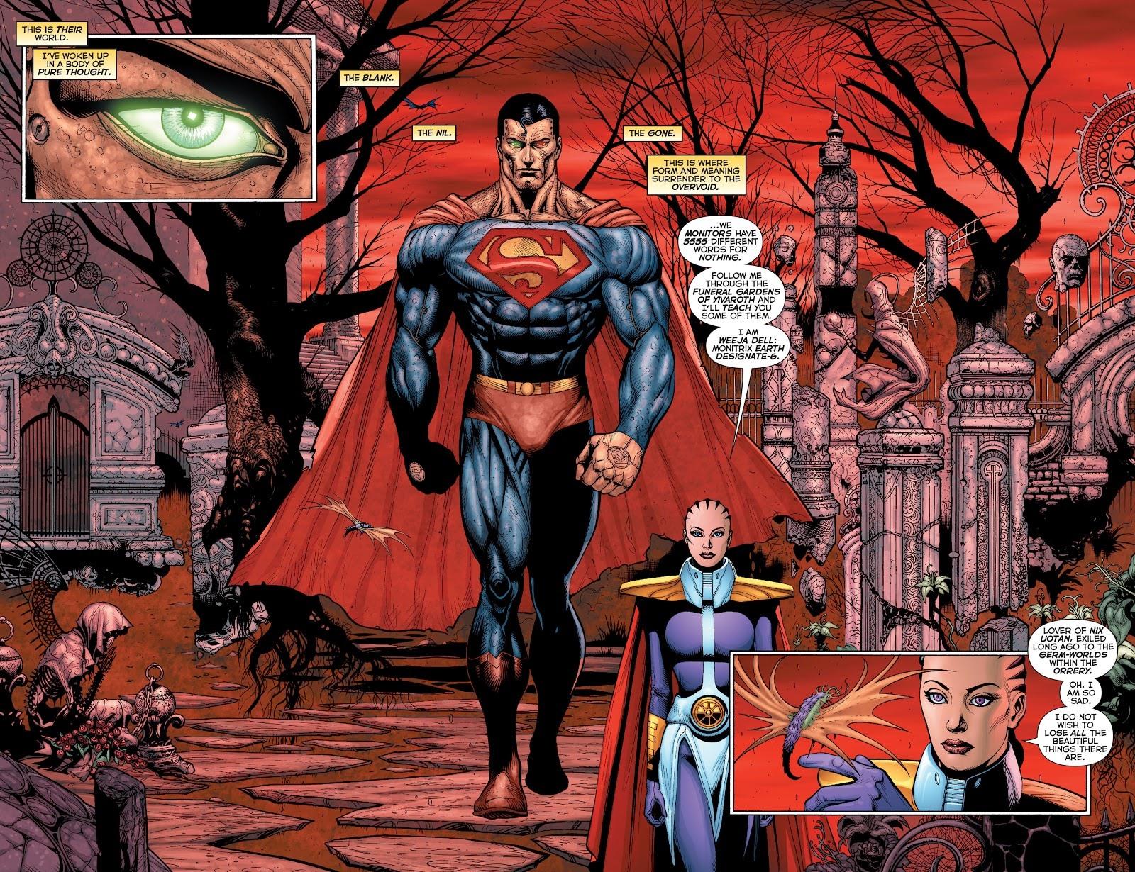 SUPERMAN THOUGHT ROBOT VÀ MANDRAKK
