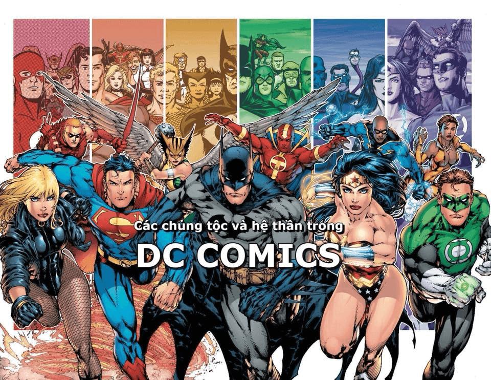Các Chủng Tộc, Nhóm Thần Trong Dc Comics