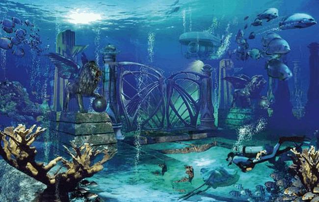 Thành phố cổ đại Atlantis