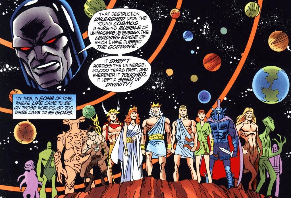 Godwave – Nguồn gốc những vĩ thần