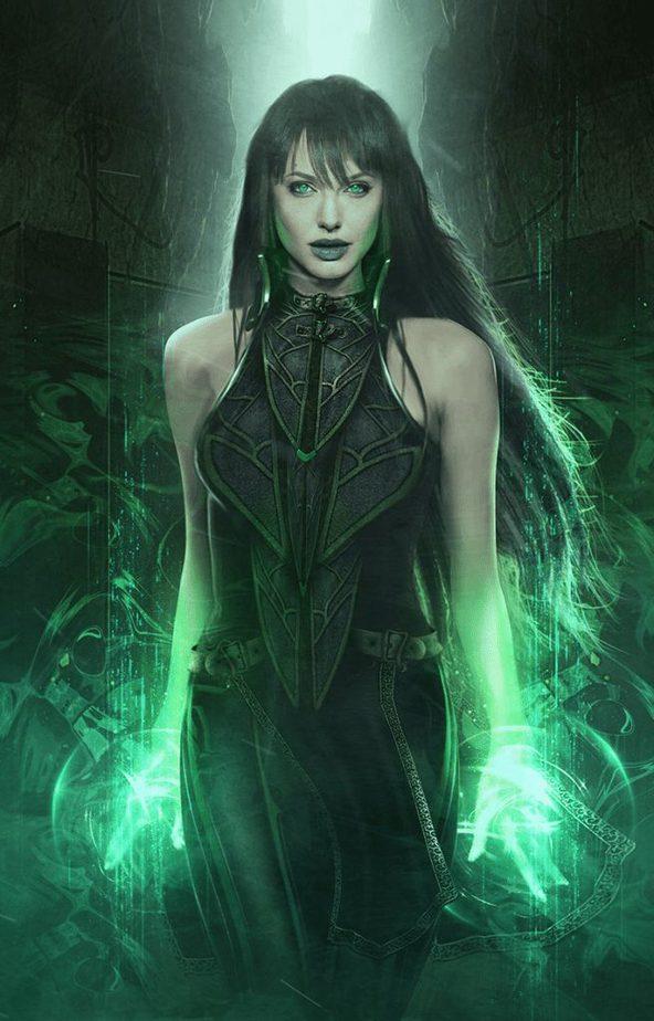 Tạo hình của Aangelina Jolie, người sẽ vào vai Sersi trong dự án phim The Eternals sắp tới