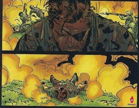 Nick Fury đổ gục sau thi thất bại trong cuộc tấn công vào căn cứ tướng Giáp