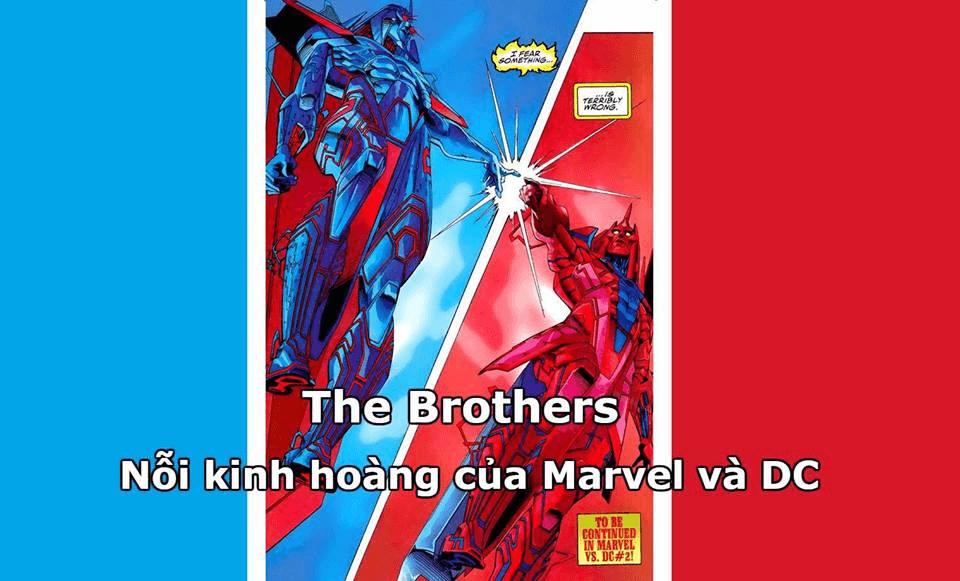 The Brothers và sự kiện Amalgam - DC/Marvel tương tàn