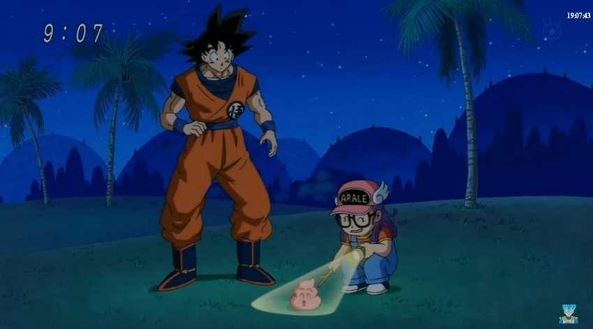 Goku đã lớn còn cô bé robot vẫn như vậy