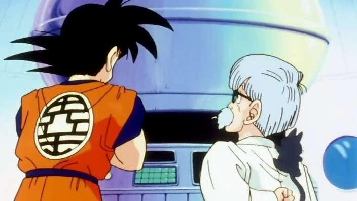 Ông hướng dẫn Goku sử dụng tàu vũ trụ