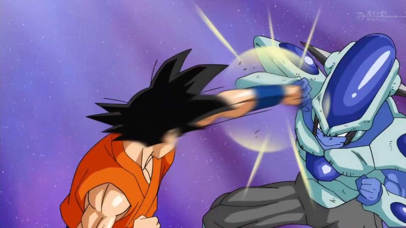 Frost không phải là đối thủ của Goku