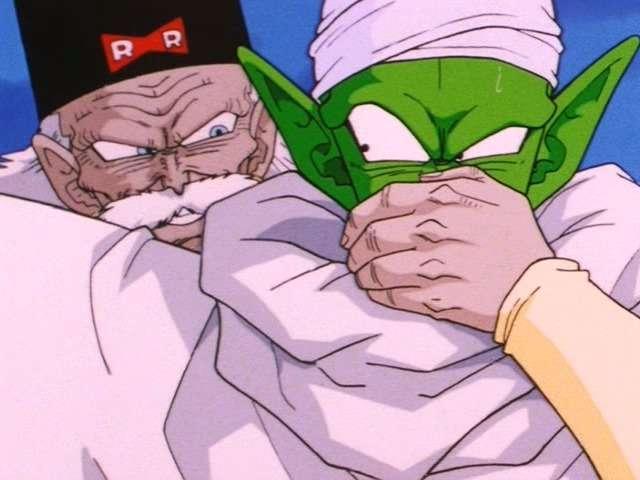 Gero khống chế Piccolo