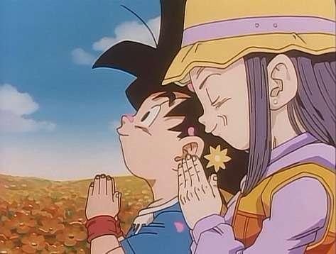 Goku jr vs bà Pan