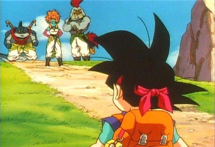 Goku jr đối mặt với nhiều khó khăn khi tìm ngọc