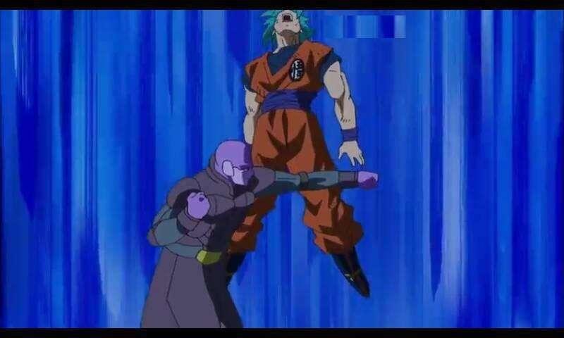 Goku không thể chống đỡ được chiêu thức mới