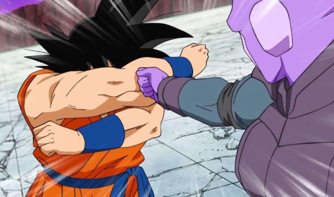 Goku phán đoán đc đòn của Hit