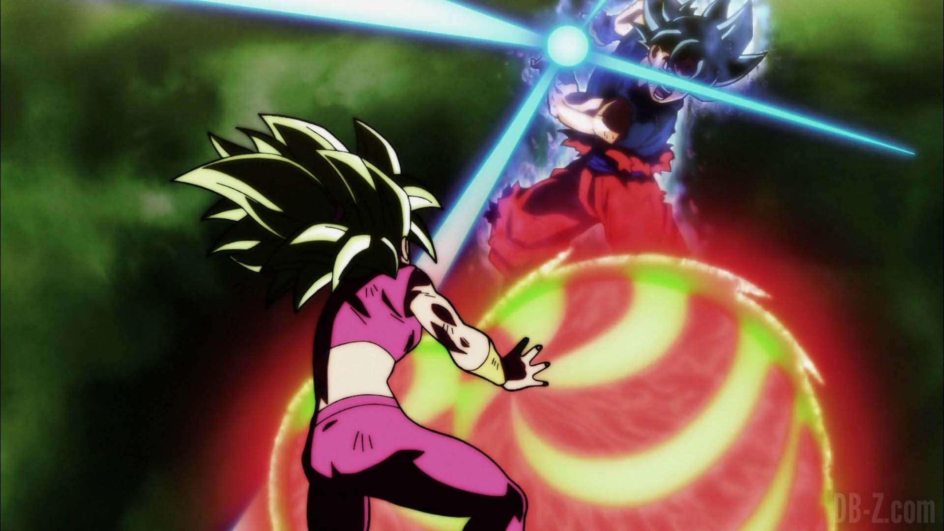 Kefla vẫn kém Goku 1 bậc!