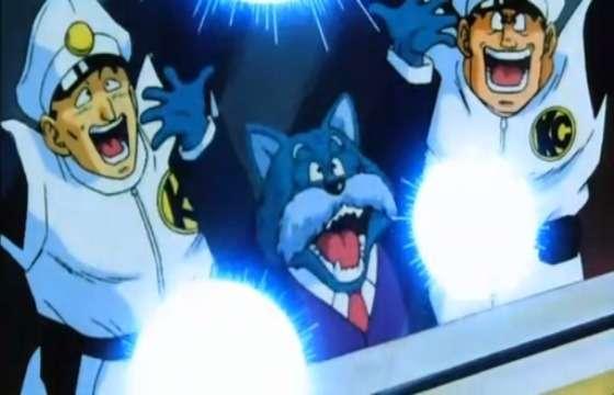 Ông đang tiếp sức cho Goku