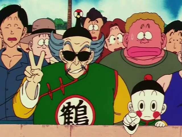 Lão hạc chỉ đạo chiaotzu khống chế Goku