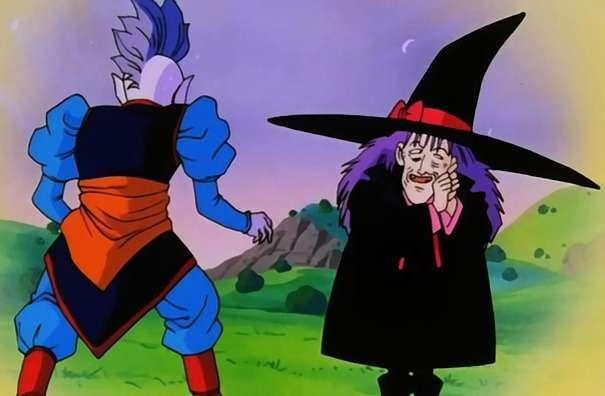 Kai thời trẻ và bà phù thủy già